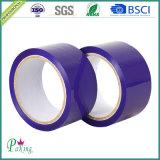Cinta adhesiva roja del embalaje del color BOPP con la adherencia el bueno (P040)