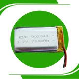 Bateria recarregável da bateria 3.7V GPS do polímero do Li-íon