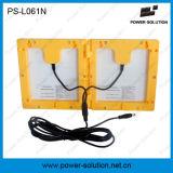 Lanterna solare portatile con il caricatore del telefono mobile e della lampadina d'attaccatura