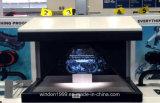 """витрина индикации пирамидки Hologram 42 """" 3D/коробка Holo/голографическая индикация"""