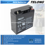 12V17ah Storage Lead Acid Battery für Sonnensystem