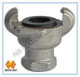 Raccord de tuyau industriel en acier inoxydable de type American Claw