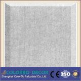 El panel acústico material de la pared interior de la fibra de poliester de la decoración