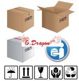 Scatole ondulate mobili di spedizione delle caselle di trasporto dell'imballaggio del cartone (PC017)