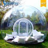 耐久の膨脹可能な防水キャンプテントの膨脹可能で明確な透過泡テント