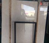 Wijd Gebruikte Beige Marmeren Plakken voor Bevloering/de Bekleding van de Muur
