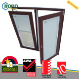 Hohe Sicherheits-Neigung-und Drehung-Glasfenster des Veka Profil-UPVC