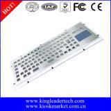 teclado do quiosque da montagem 86keys com Touchpad e chaves de função