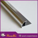 Aluminio 1/4 ajuste redondo cuarto del ribete del azulejo con buen precio