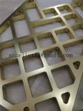 نوع ذهب لون ألومنيوم مائيّة حاجز فنية شاشة [ستينلسّ ستيل] [رووم ديفيدر] صنع