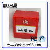 Sortie de porte d'urgence réinitialisante avec 2 pôles (SACP22R (Rouge))
