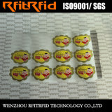 Collants de papier adhésifs de produit chimique d'impression de collant d'étiquette de vente chaude