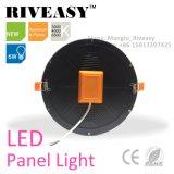 Luz de painel redonda do diodo emissor de luz do teto de Ce/RoHS 6W para interno