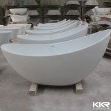China-Fabrik Kingkonree Corian feste freistehende moderne Oberflächenbadewanne