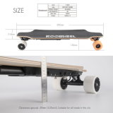 7-Ply del patín eléctrico del arce de la rueda canadiense de madera 4 con el paquete reemplazable de la batería