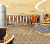 Steinmosaik-Laterne-Form-Fußboden-Fliese (FYSL386)