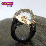 형식 보석 금 은 결혼식 은밀한 목제 남자의 반지