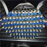 Трубопровод ASTM A53 BS1387 En39 горячий окунутый гальванизированный с продетыми нитку концами