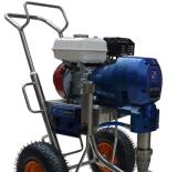 Mit hohem Ausschuss Gasmotor-Farbanstrich-Sprüher-Maschine