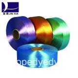 Fils de polyesters teints par dopant du filament 750d/288f de FDY