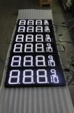 Hidly 12 인치 백색 미국 LED 주유소 표시