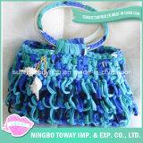 Vente personnalisée de mode tricotant à la main Madame de sac sac à main