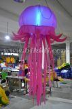 Balão de suspensão das medusa infláveis feitas sob encomenda do tamanho com diodo emissor de luz C2007 claro