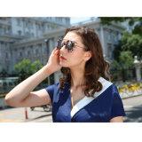 نمو جديدة أنيق [تر90] بلاستيك و [ستينلسّ ستيل] نساء نظّارات شمس مع يستقطب عدسة
