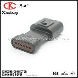 Novo de Kinkong moldado 6 conetores elétricos automotrizes masculinos do Pin