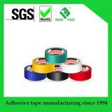 Bande électrique colorée d'isolation de PVC de vente chaude