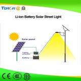 30W luz de calle impermeable impermeable al aire libre ligera solar IP65 del jardín LED