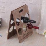 Soporte de madera del vino del estante del vino rojo del nuevo sostenedores del vino estante moderno del vino de 2016