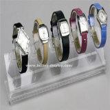 Tour acrylique claire Btr-F1022 d'étalage de montre