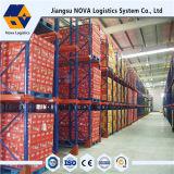 Nova resistente de Jiangsu do formulário do racking do armazenamento da pálete