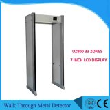 Chine Fabricant 33zones Walk Through Gate Uz800