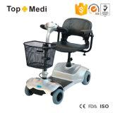 Scooter à quatre roues détachable de mobilité d'énergie électrique de poids léger de Topmedi