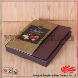 Caixa Shaped de empacotamento dos doces do livro do presente de papel rígido popular