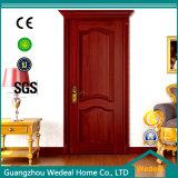 Hölzerne Furnier-Blatttür für Familien-Raum mit Glas (WDHO55)