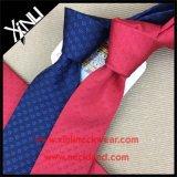 Homens tecidos do laço da forma da seda de 100% jacquard Handmade