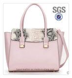 Fashion Handbag広州の製造業者OEM PUの革女性