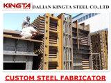 Estructura de acero de acero de encargo del departamento de soldadura del fabricante del metal