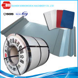 Bobine en acier en acier enduite par zinc en acier galvanisée par plaque en aluminium de la bobine PPGI de PPGI