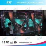 P5 sottili eccellenti dimagriscono il PUNTINO dell'interno di alluminio dello schermo di visualizzazione del LED dell'affitto SMD RGB