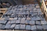 Lastricatori neri del granito, pietra per lastricati, paracarro del granito, cubico