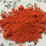 Orange de molybdate du rouge 107 C.I.P.R104 de molybdate