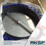 Flange Type Válvula Borboleta Wormgear Operação ferro fundido Ferro Ductil