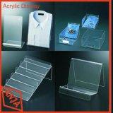 Acrylausstellungsstand-Acrylbildschirmanzeige-Zahnstange