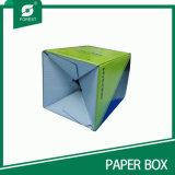 Rectángulo de empaquetado del papel acanalado de la botella de agua