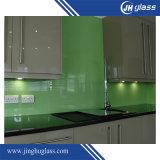 vidro pintado verde de 8mm