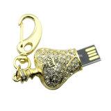 호화스러운 수정같은 프랑스 향수 USB Pendrive 보석 기억 장치 지팡이